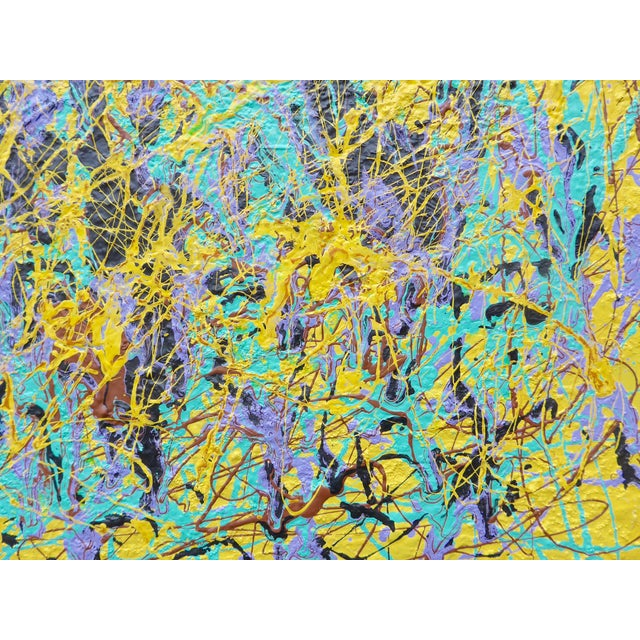 """Carnival"" Contemporary Painting - Image 3 of 3"