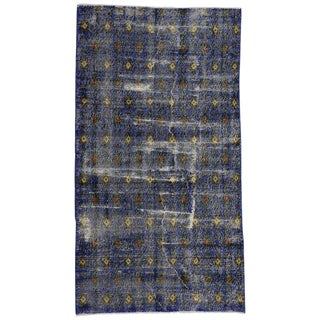 20th Century Turkish Zeki Muren Distressed Sivas Rug For Sale