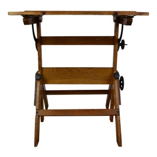 Antique Drafting Table For Sale