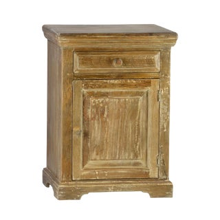 Teak Wash Nightstand
