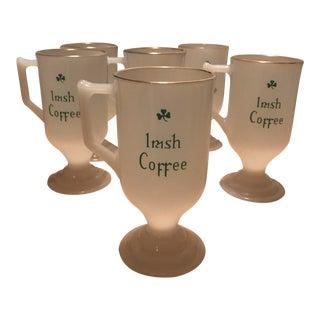 Anchor Hocking Irish Coffee Mugs - Set of 5