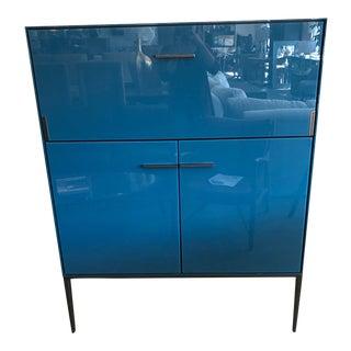 B&b Italia Blue Cabinet For Sale