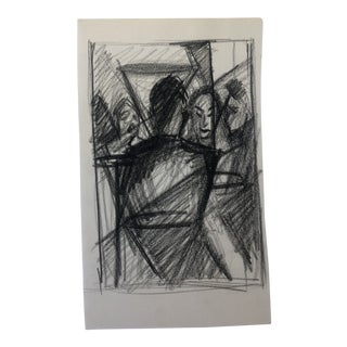 Modern Figure Drawing, 1950s For Sale