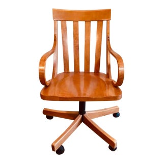 Modern Ethan Allen Bankers Chair For Sale