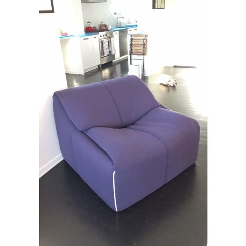 2010s Ligne Roset Plumy Armchair For Sale - Image 5 of 7