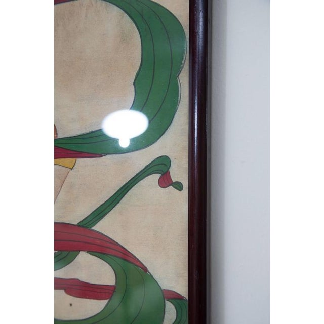 Grouping of Ancient Chinese Warriors Hand-Painted For Sale In West Palm - Image 6 of 8