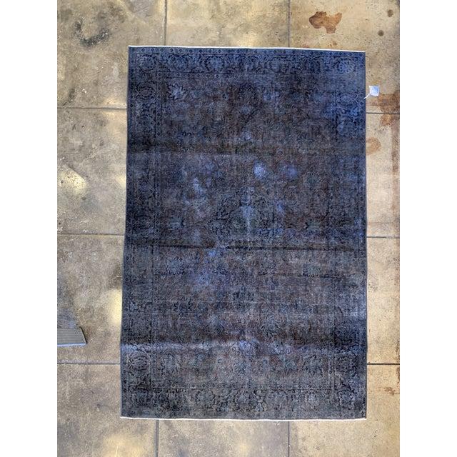 Silk 1940s Turkish Silk Rug For Sale - Image 7 of 7