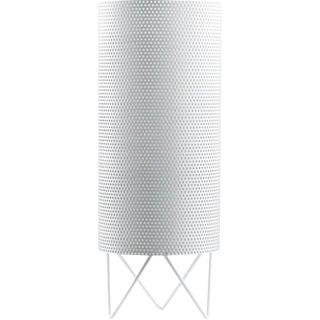 Mid-Century Modern Barba Corsini White Aluminum 'H20' Table Lamp