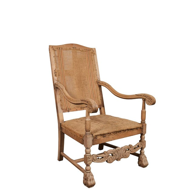 Louis XVI Style Armchair For Sale - Image 9 of 9