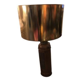 Vintage Fire Extinguisher Lamp For Sale