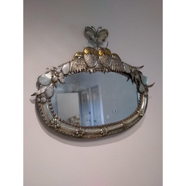 Sergio Bustamante Signed Mirror For Sale - Image 4 of 4