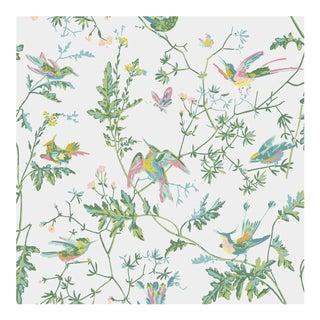 Hummingbirds Botanic Style Colour 112/4015 Wallpaper Sample For Sale