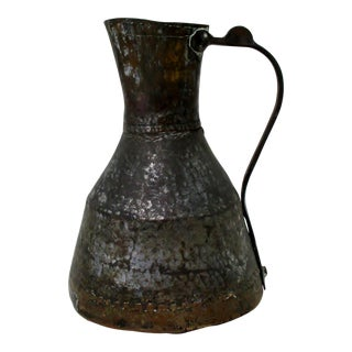 Antique Copper Pitcher