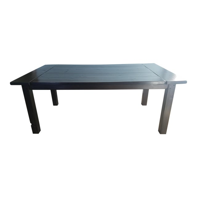 Farmhouse Pine Dining Table - Image 1 of 6
