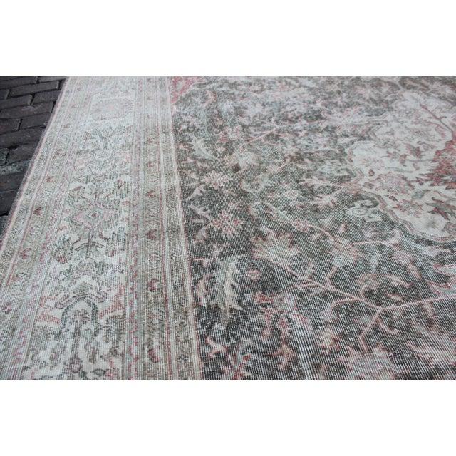 Textile Vintage Sivas Turkish Wool Rug - 8 X 13 For Sale - Image 7 of 8
