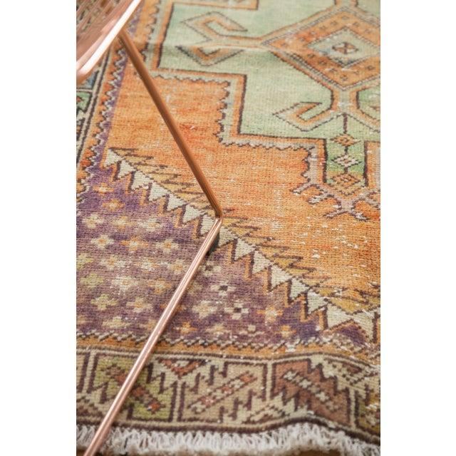 "Textile Vintage Distressed Oushak Rug - 3'11"" X 8'3"" For Sale - Image 7 of 11"