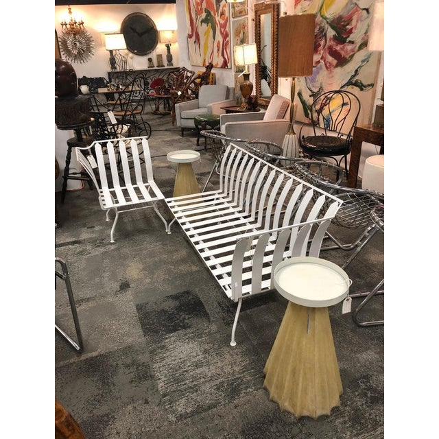 Mid-Century Modern Mid-Century Garden Sofa and Chair Set - 2 Pc. Set For Sale - Image 3 of 5