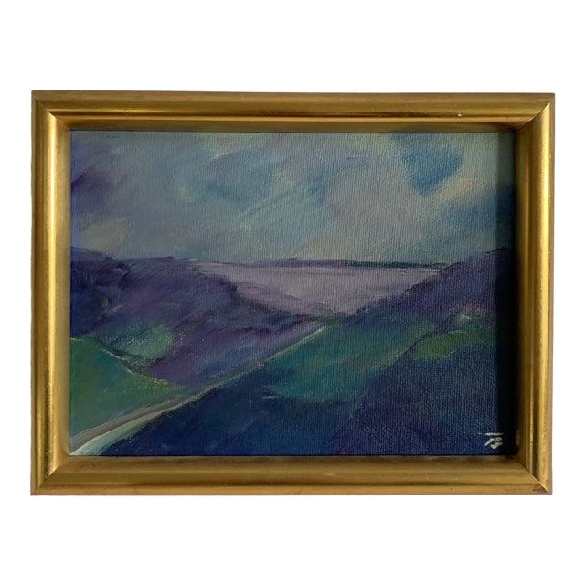 Vintage European Landscape Painting For Sale