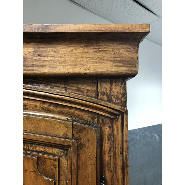 Vintage Pine Armoire - Image 6 of 10