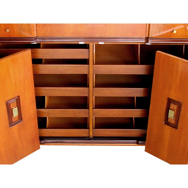 Mid 20th Century A Handsome and Rare American Mid-Century Walnut Dressing Cabinet by John Widdicomb For Sale - Image 5 of 8