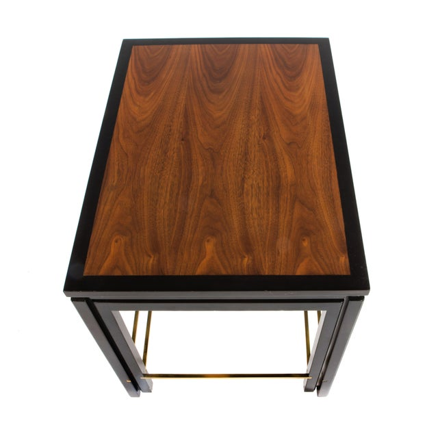 SET OF THREE NESTING TABLES BY EDWARD WORMLEY FOR DUNBAR, CIRCA 1950S - Image 7 of 11