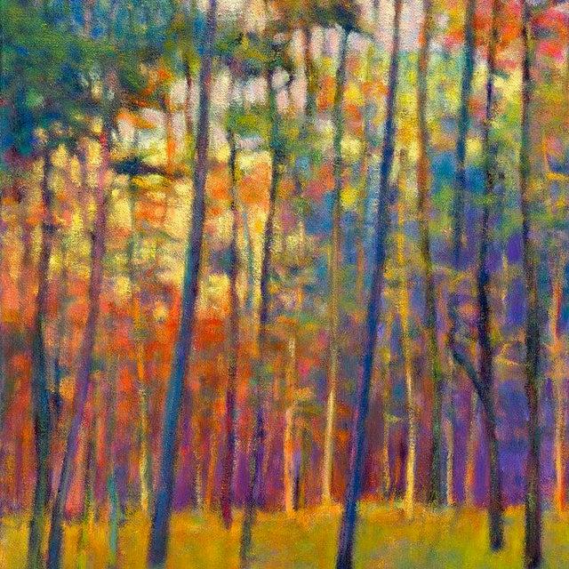Impressionism Ken Elliott, Glittering Forest, 2017 For Sale - Image 3 of 9