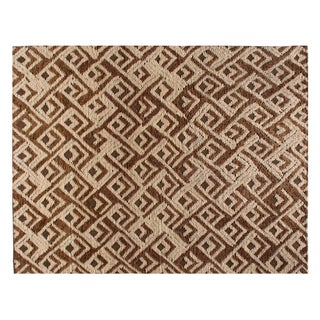 Stark Studio Rugs Contemporary Peaks Wool Rug - 10′ × 14′ For Sale