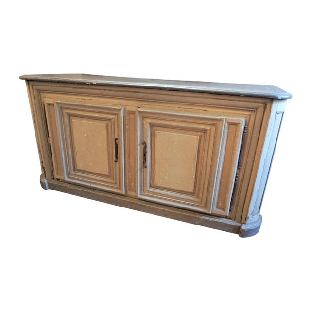 19th Century French Painted Buffet For Sale - Image 10 of 10
