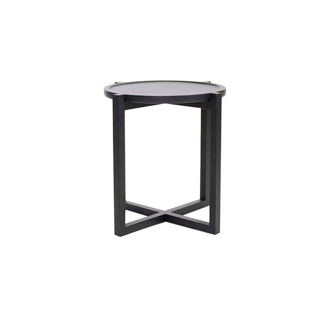 2010s Boton Three Side Table, Conacaste Wood With Black Stain For Sale - Image 5 of 5