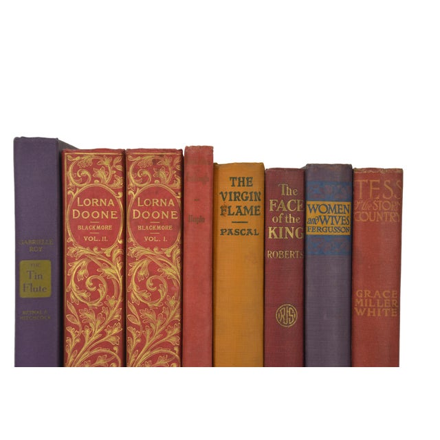 Various Vintage Decorative Books - Set of 8 - Image 3 of 4
