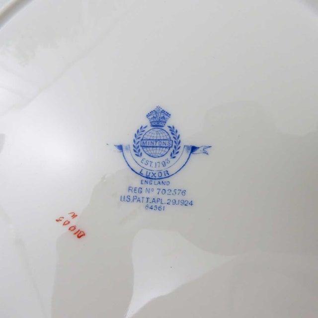Vintage Mismatched Fine China Dinner Plates - Set of 4 - Image 5 of 10