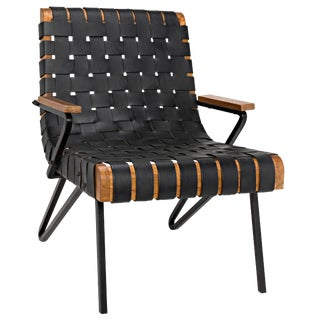 Laramy Chair, Leather For Sale