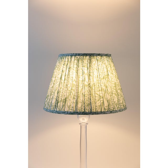 "Contemporary Fern in Moss 10"" Lamp Shade, Green For Sale - Image 3 of 6"