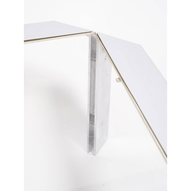 Modern Design Institute of America Chrome Coffee Table For Sale - Image 3 of 8