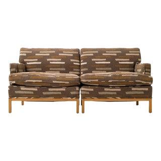 T.H. Robsjohn Gibbings Custom Seating Vignette For Sale