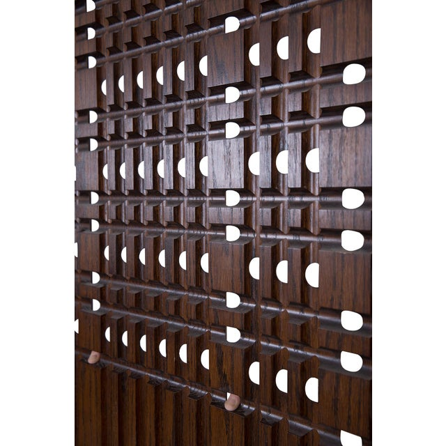Mid-Century Modern Walnut Architectural Panels For Sale - Image 3 of 6
