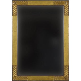 Art Deco Gold Mirror For Sale