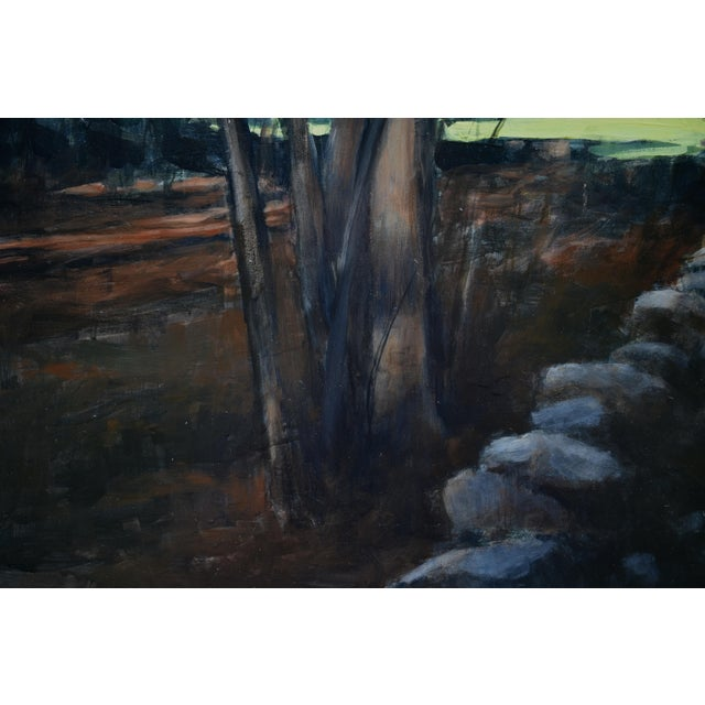 """Stephen Remick """"Spring Fields"""" Contemporary Painting For Sale In Providence - Image 6 of 11"""