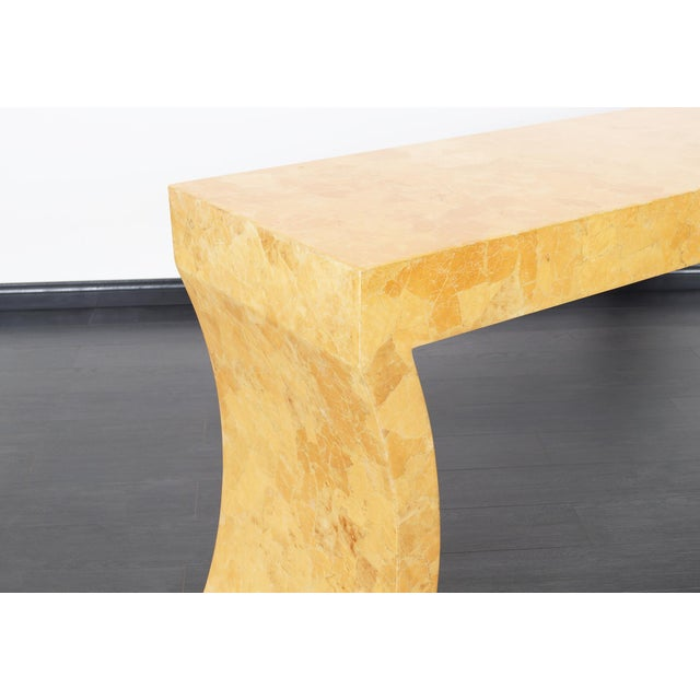 Vintage Craquelure Console Table by Jimeco Itda For Sale In Los Angeles - Image 6 of 9