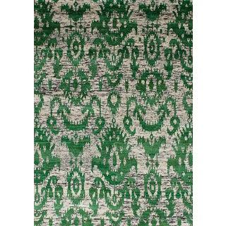 "Hand-Knotted Sari Silk Rug - 5'2"" x 7'3"""