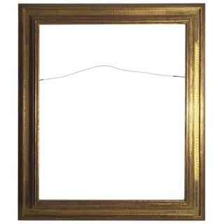 Harer Frederick Gilt Wood, Hand Carved Frame For Sale
