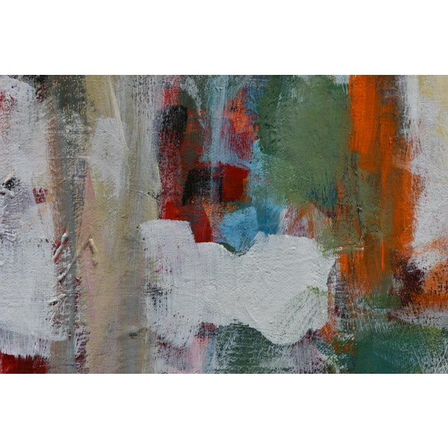 """Modern """"Hunters in the Snow"""" Abstract Painting by Stephen Remick For Sale In Providence - Image 6 of 13"""