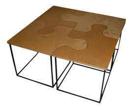 Image of Canary Yellow Tables
