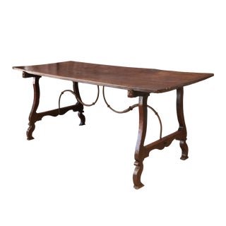 Early Italian Walnut Table