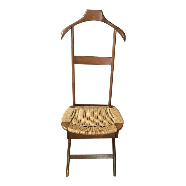 Mid Century Italian Valet Chair For Sale