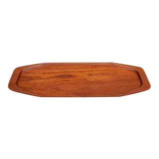 Danish Teak Serving Tray by Digsmed For Sale