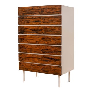 European Rosewood Seven Drawer Chest