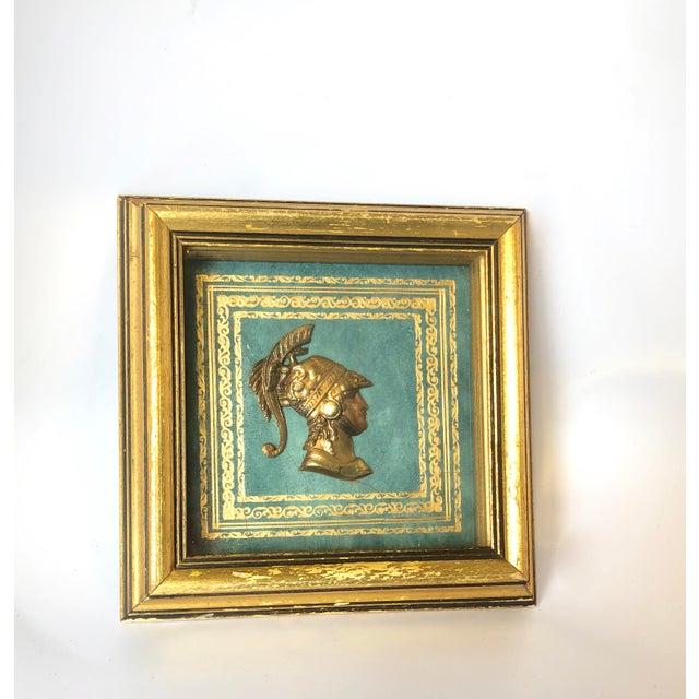 Wood 20th Century Grand Tour Roman Intaglio Medallion For Sale - Image 7 of 7