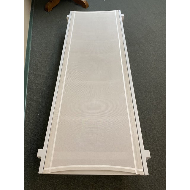 White Mamagreen Allux White Outdoor Lounger For Sale - Image 8 of 13