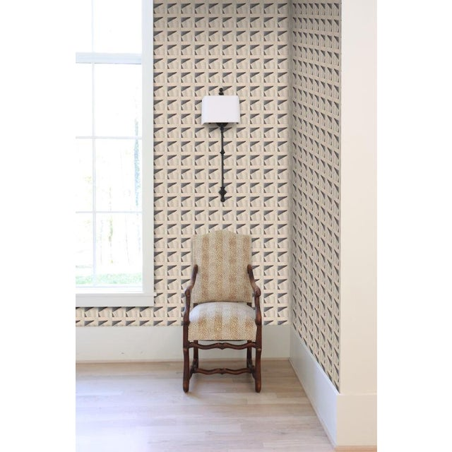 Not Yet Made - Made To Order Houndstooth Cosmic Medium Wallpaper For Sale - Image 5 of 6